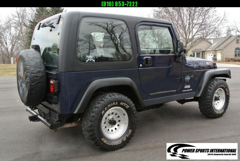 2004 Jeep Wrangler X 2DR SUV 4WD Truck 6 Cylinder Manual #2295