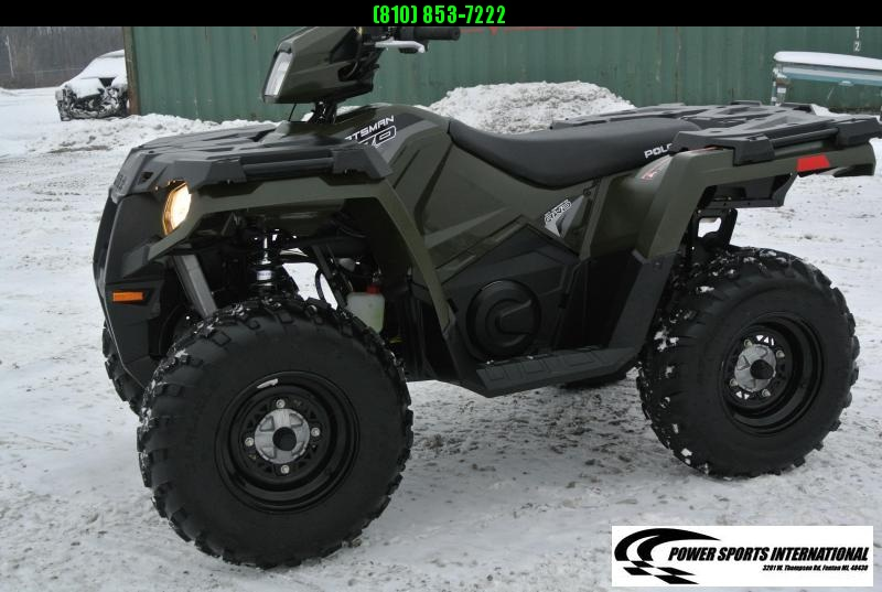 2018 POLARIS SPORTSMAN 570 EFI 4X4 ATV HUNTER GREEN #8577