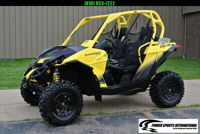 2018 CAN-AM MAVERICK 1000R X MR YELLOW #0100
