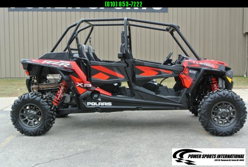 2018 POLARIS RZR XP 4 TURBO FOX EDITION (ELECTRIC POWER STEERING) RED #5549