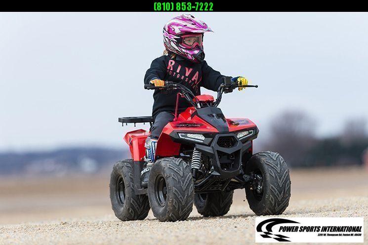 2020 MUDHAWK 6 YOUTH ATV 4-Stroke Automatic Four Wheeler ORANGE #0110