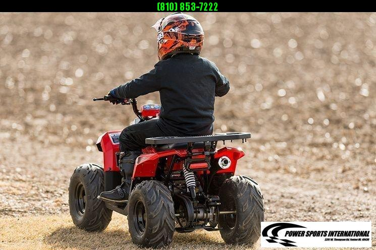 2020 MUDHAWK 6 YOUTH ATV 4-Stroke Automatic Four Wheeler ORANGE #0110