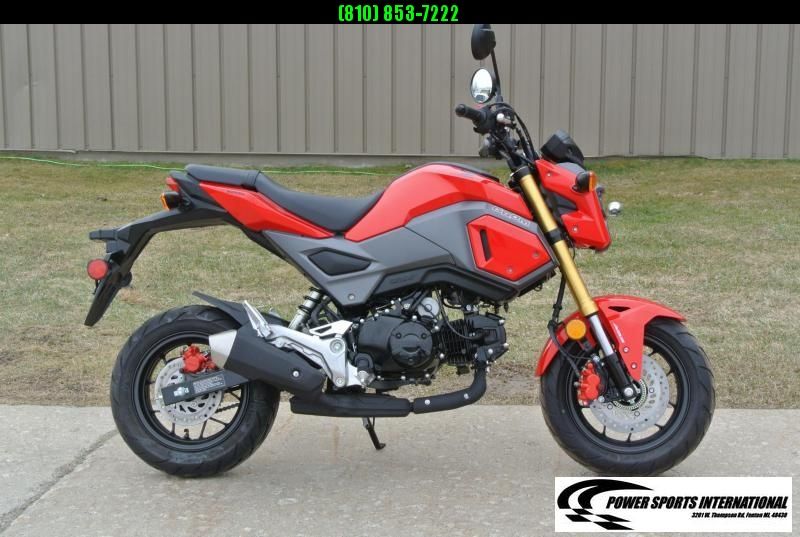 2018 Honda GROM 125 E-Start Motorcycle Tons of FUN!! Grom #0333
