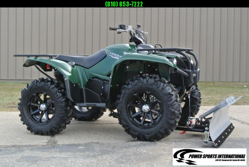 2016 YAMAHA YFM70KDXG KODIAK 700 4WD Hunter Green with Plow #6247