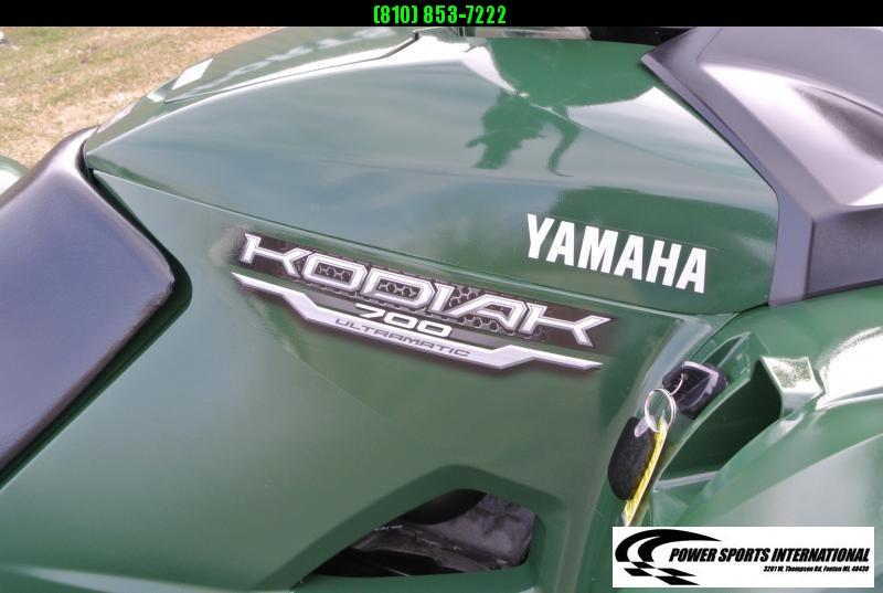 2016 YAMAHA YFM70KDXG KODIAK 700 4WD Hunter Green with Plow #6247