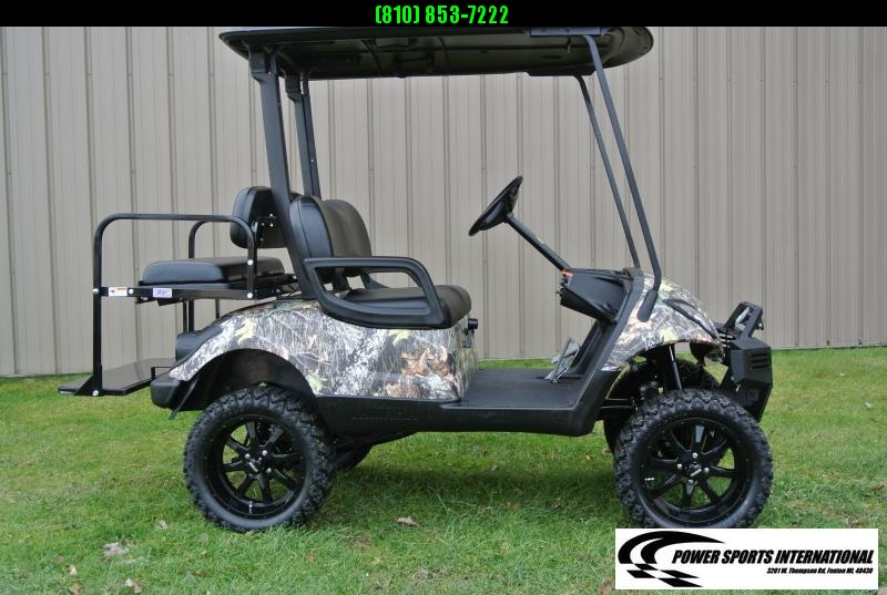 "2016 CUSTOM Camouflage Yamaha Drive GAS POWERED Golf Cart w/ 15"" Wheels #1537"