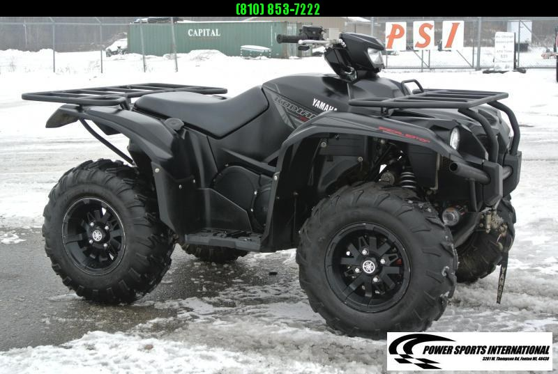 2018 YAMAHA YFM70KPSJB KODIAK 700 EPS 4WD SE (TACTICAL BLACK) #4128