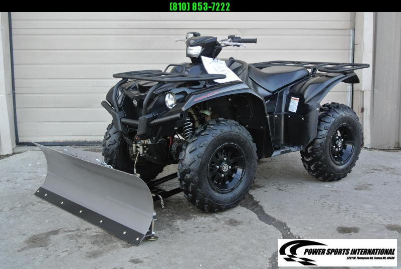2018 YAMAHA YFM70KPSJB KODIAK 700 EPS 4WD SE (TACTICAL BLACK) w/ SNOWPLOW #4128