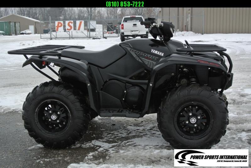 2018 YAMAHA YFM70KPSJB KODIAK 700 EPS 4WD SE (TACTICAL BLACK) w/ SNOWPLOW #4128