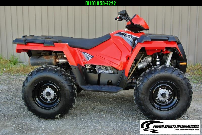 2017 POLARIS SPORTSMAN 570 (ELECTRIC POWER STEERING) RED #3633