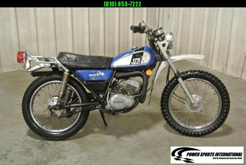 1975 YAMAHA DT175 DT 175 ENDURO 2-STROKE VINTAGE Motorcycle #5268