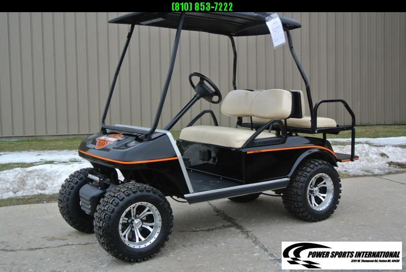 2006 Club Car DS 48V Electric Golf Cart HARLEY DAVIDSON #1668