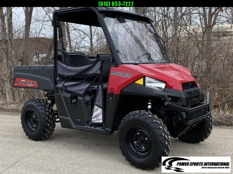 2017 POLARIS RANGER 500 RED Metallic Edition #1321