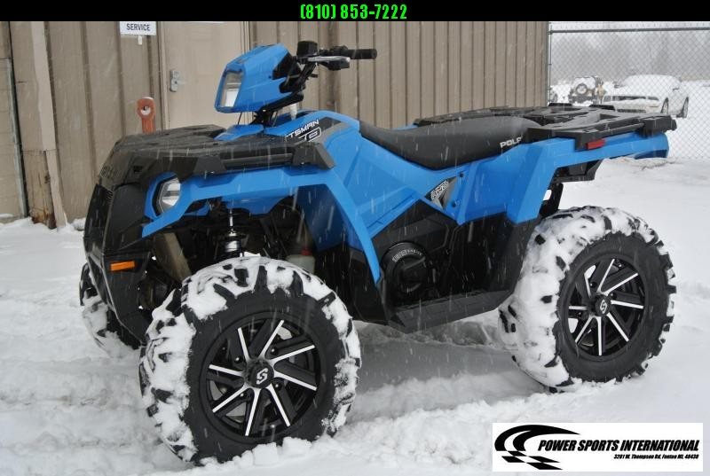 2019 POLARIS SPORTSMAN 570 EPS EFI 4X4 ATV W/ WHEELS #6399