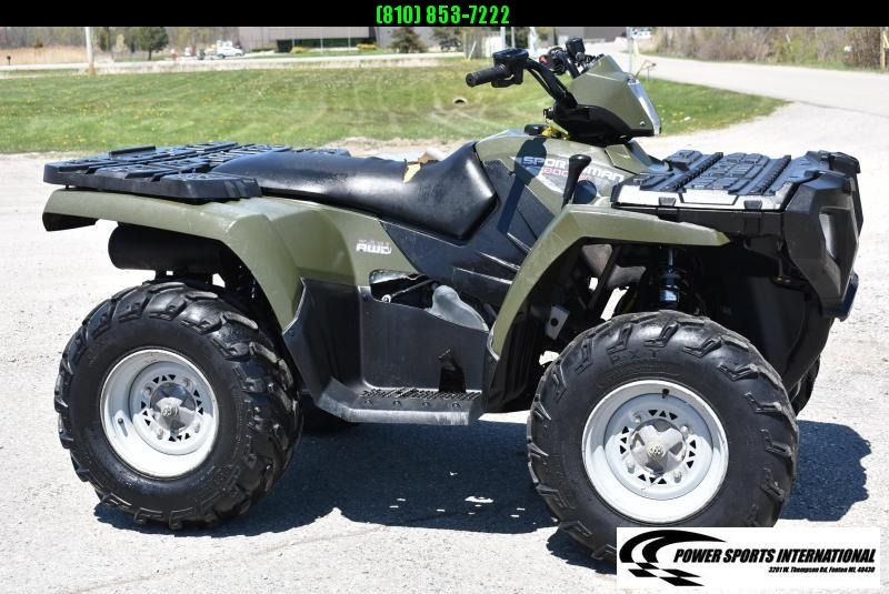 2009 POLARIS SPORTSMAN 800 EFI 4x4 Hunter Green #2392
