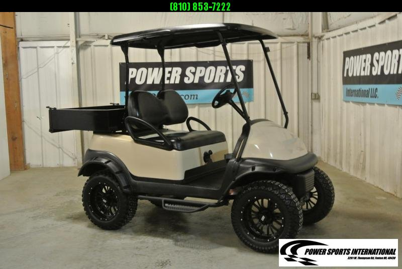 2015 Club Car Precedent GAS Powered Golf Cart with Truck Bed #9311