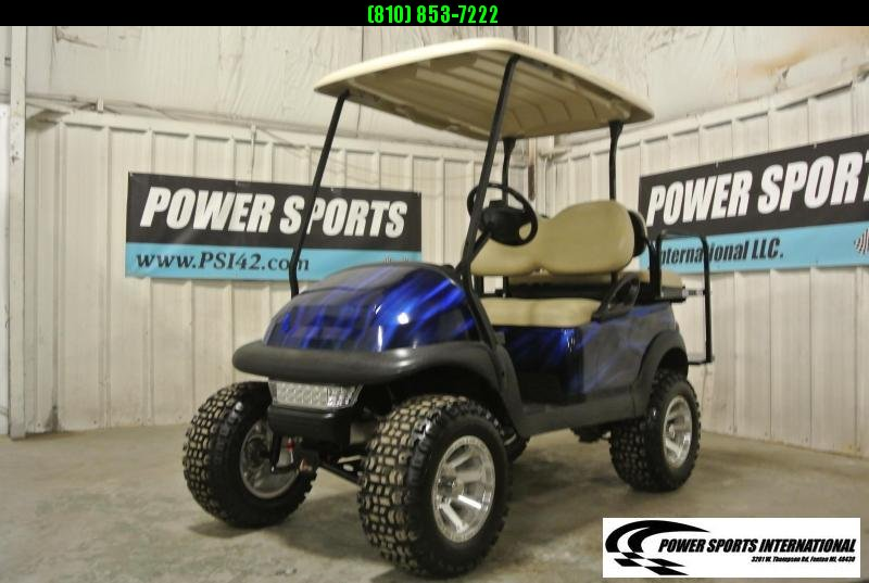 2013 Club Car Precedent 48V Electric Golf Cart BLUE #4482