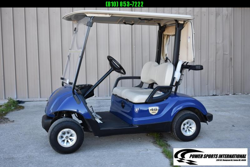 2014 YAMAHA YDREX4 48V Golf Cart in Blue #5810
