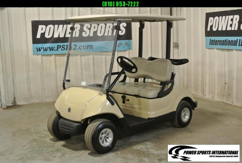 2015 YAMAHA DRIVE Gas Golf Cart in White #2212
