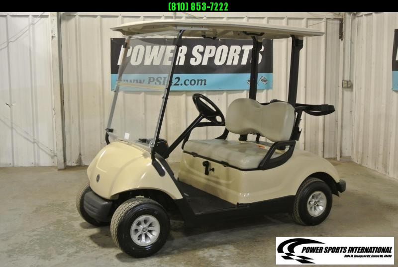 2015 YAMAHA DRIVE Gas Golf Cart in White #2212