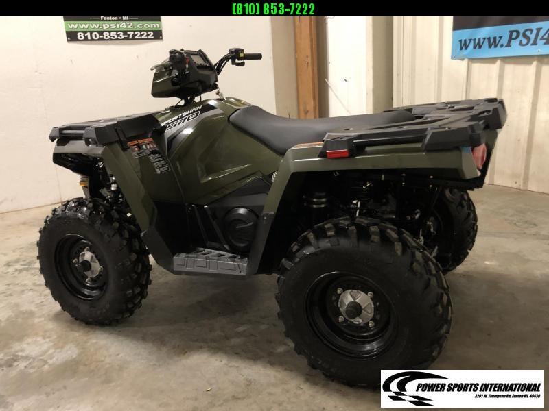 2019 POLARIS SPORTSMAN 570 EFI 4X4 ATV HUNTER GREEN #3092