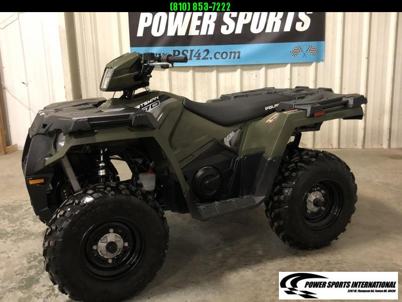 2019 POLARIS SPORTSMAN 570 EFI 4X4 ATV HUNTER GREEN #3092