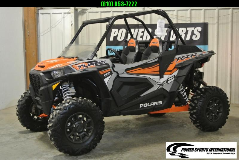 2018 POLARIS RZR XP TURBO 1000 EPS Side By Side SXS #4125