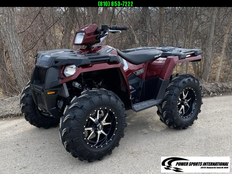 2019 POLARIS SPORTSMAN 570 SP EPS EFI 4X4 ATV MAROON w/ EXTRAS #5038