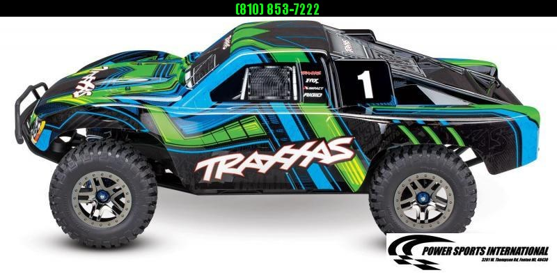 TRAXXAS TRAXXIS SLASH 4X4 ULTIMATE TSM GREEN Model #68077-4 #TRX00010