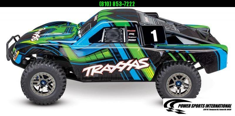 TRAXXAS TRAXXIS SLASH 4X4 ULTIMATE TSM GREEN Model #68077-4 #TRX00010