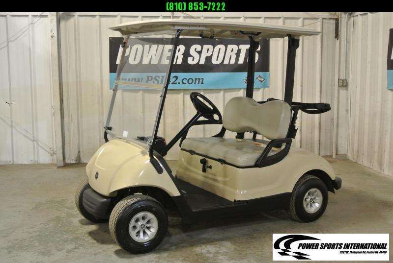 2015 YAMAHA DRIVE Gas Golf Cart in White #2209