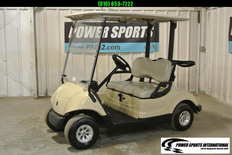 2015 YAMAHA DRIVE Gas Golf Cart in White #2209