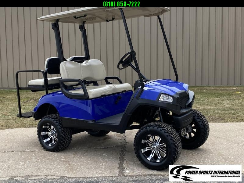 2013 YAMAHA DRIVE Gas Golf Cart Custom Metallic Blue #1401