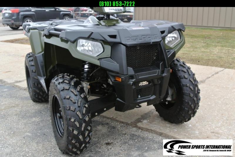 2018 POLARIS SPORTSMAN 570 EFI 4X4 ATV HUNTER GREEN #2742
