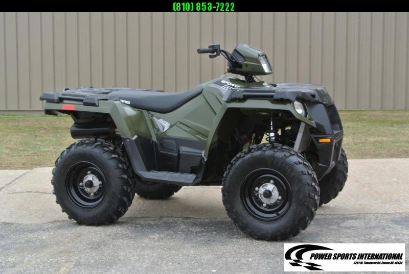 2018 POLARIS SPORTSMAN 570 EFI 4X4 ATV HUNTER GREEN #2742