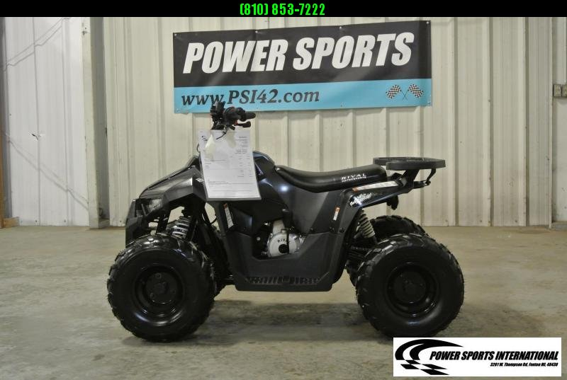 2020 MUDHAWK 6 YOUTH ATV 4-Stroke Automatic Four Wheeler BLACK #1057