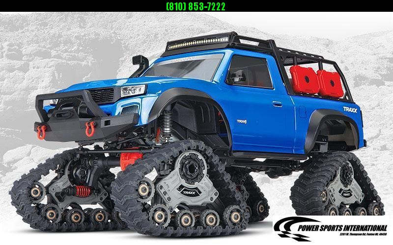 TRAXXAS TRAXXIS TRX-4® equipped with Traxx™ BLUE Model #82034-4 #TRX00006