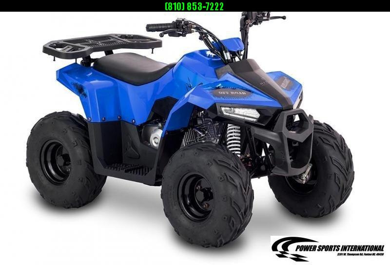 2020 MUDHAWK 6 YOUTH ATV 4-Stroke Automatic Four Wheeler BLUE #0157