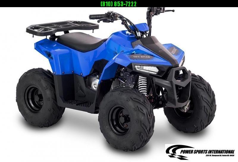 2020 MUDHAWK 6 YOUTH ATV 4-Stroke Automatic Four Wheeler BLUE #0157