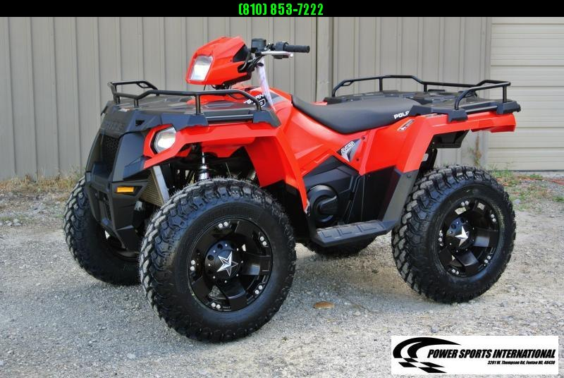 2018 POLARIS SPORTSMAN 570 RED 4X4 ATV #2468