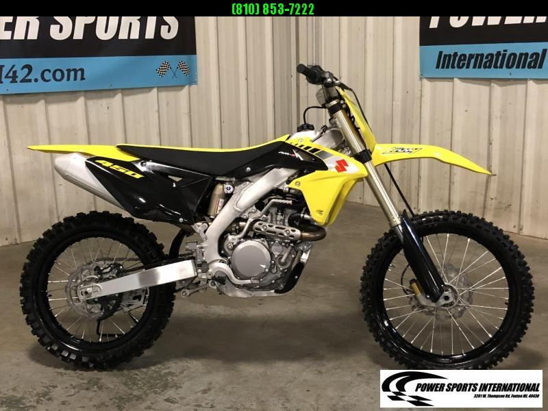2017 SUZUKI RM-Z450L7 Motorcycle MX Motocross Team Edition #0313