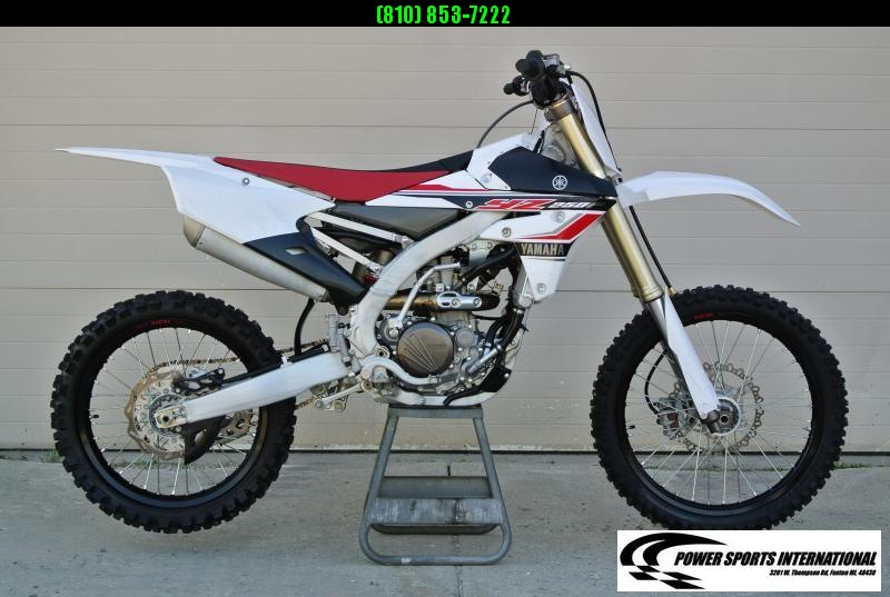 2017 Yamaha YZ250F Motorcycle MX Motocross Team Edition #2676
