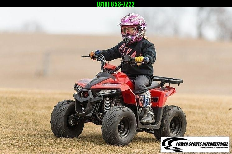 2020 MUDHAWK 6 YOUTH ATV 4-Stroke Automatic Four Wheeler RED #0025