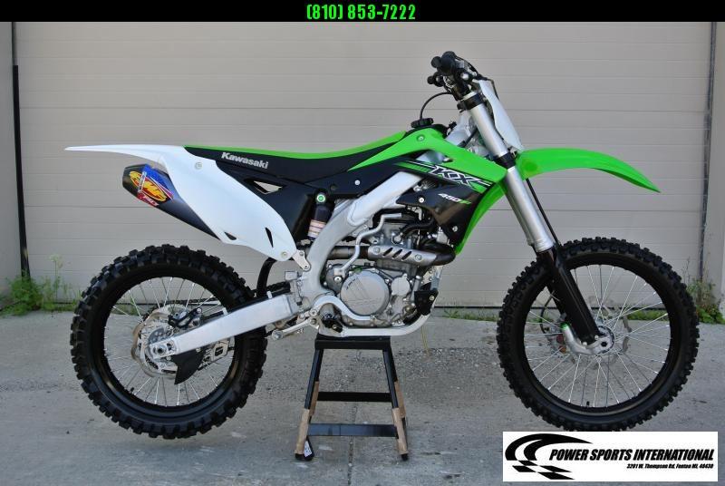 2015 KAWASAKI KX450HHF Motorcycle MX Dirt Bike MONSTER ENERGY #4150