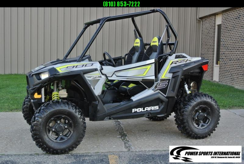 2018 POLARIS RZR S 900 EPS Black Sport Side-by-Side #3829