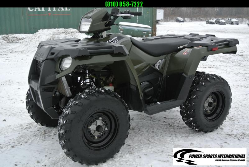 2019 POLARIS SPORTSMAN 570 EFI 4X4 ATV HUNTER GREEN #4804
