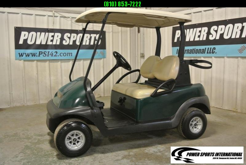 2015 Club Car Precedent EFI Gas Golf Cart in HUNTER GREEN #0791