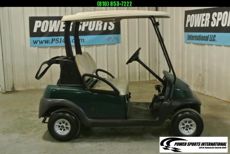 2015 Club Car Precedent EFI Gas Golf Cart in HUNTER GREEN #0791