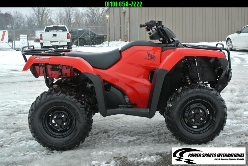 2016 HONDA TRX420FA5G FOURTRAX RANCHER (AUTOMATIC TRANSMISSION) #0297