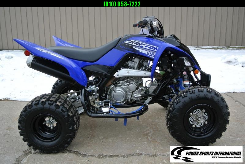 2019 Yamaha Raptor 700R Metallic Blue Team Edition Sport ATV Quad #6979